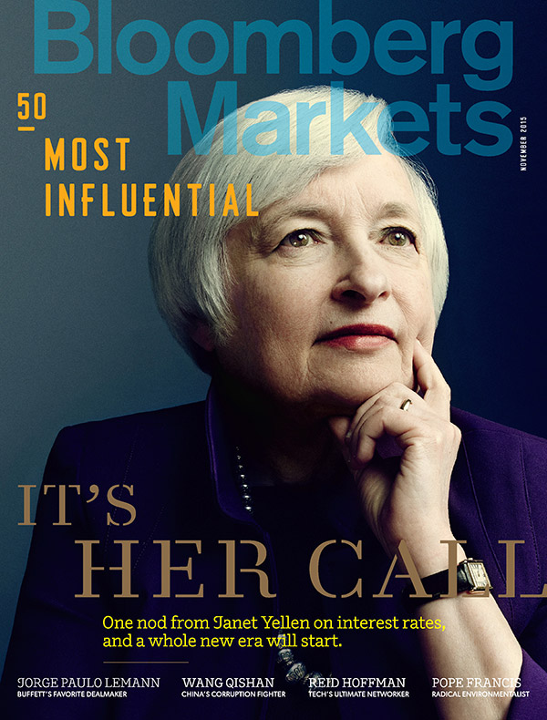 Bloomberg Markets 50 Most Influential