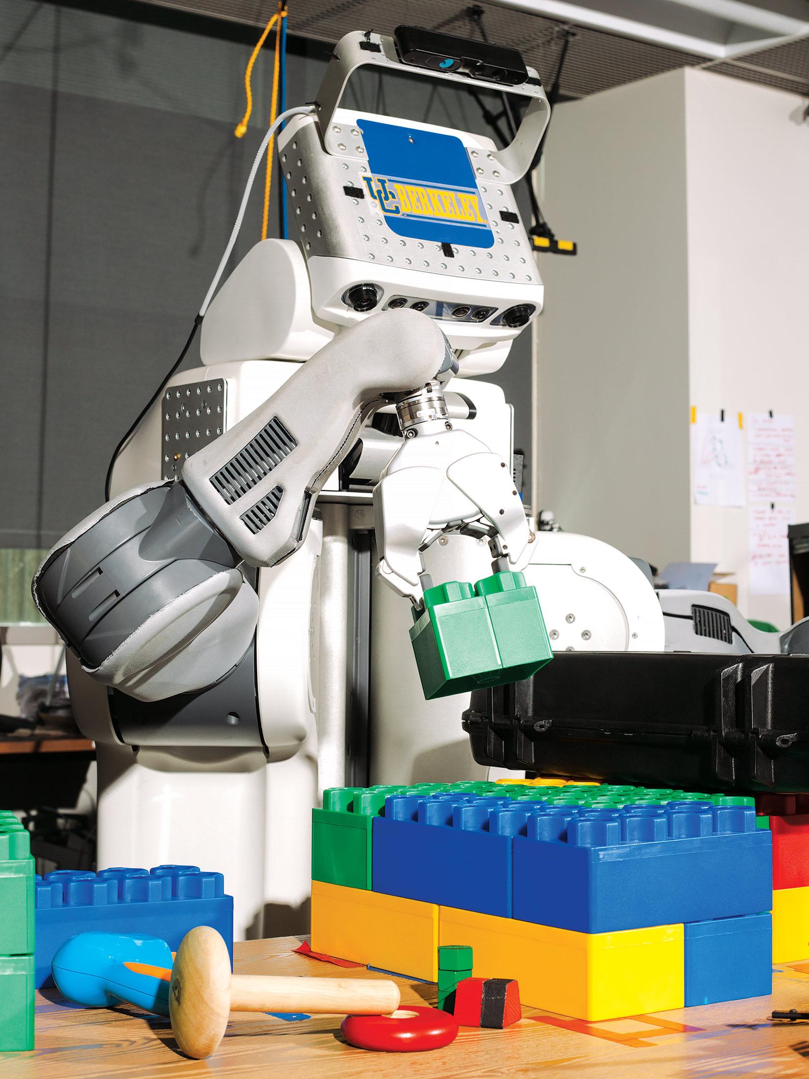 Berkeley's Preschool for Robots