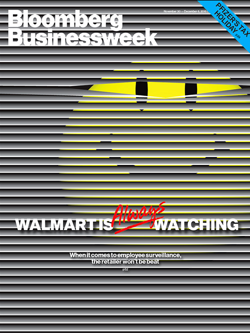 How walmart keeps an eye on its massive workforce businessweek walmart cover fandeluxe Gallery