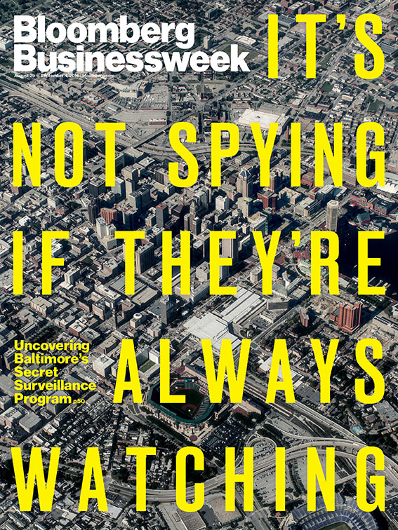 Bloomberg Businessweek Surveillance Cover