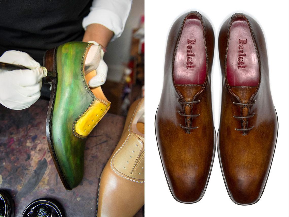 How Berluti Makes Bespoke Shoes