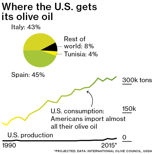 Production of olive oil