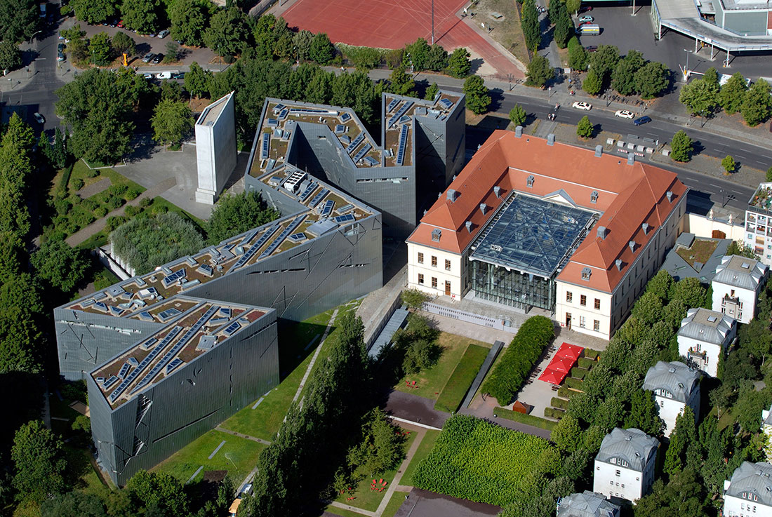 Jewish Museum Berlin, 1999, Libeskind's first constructed design.