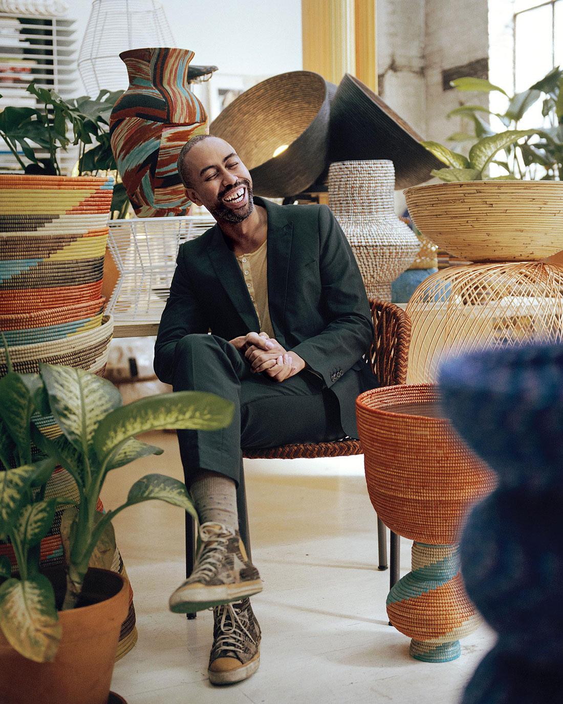How Stephen Burks Became America S Hottest Furniture Designer
