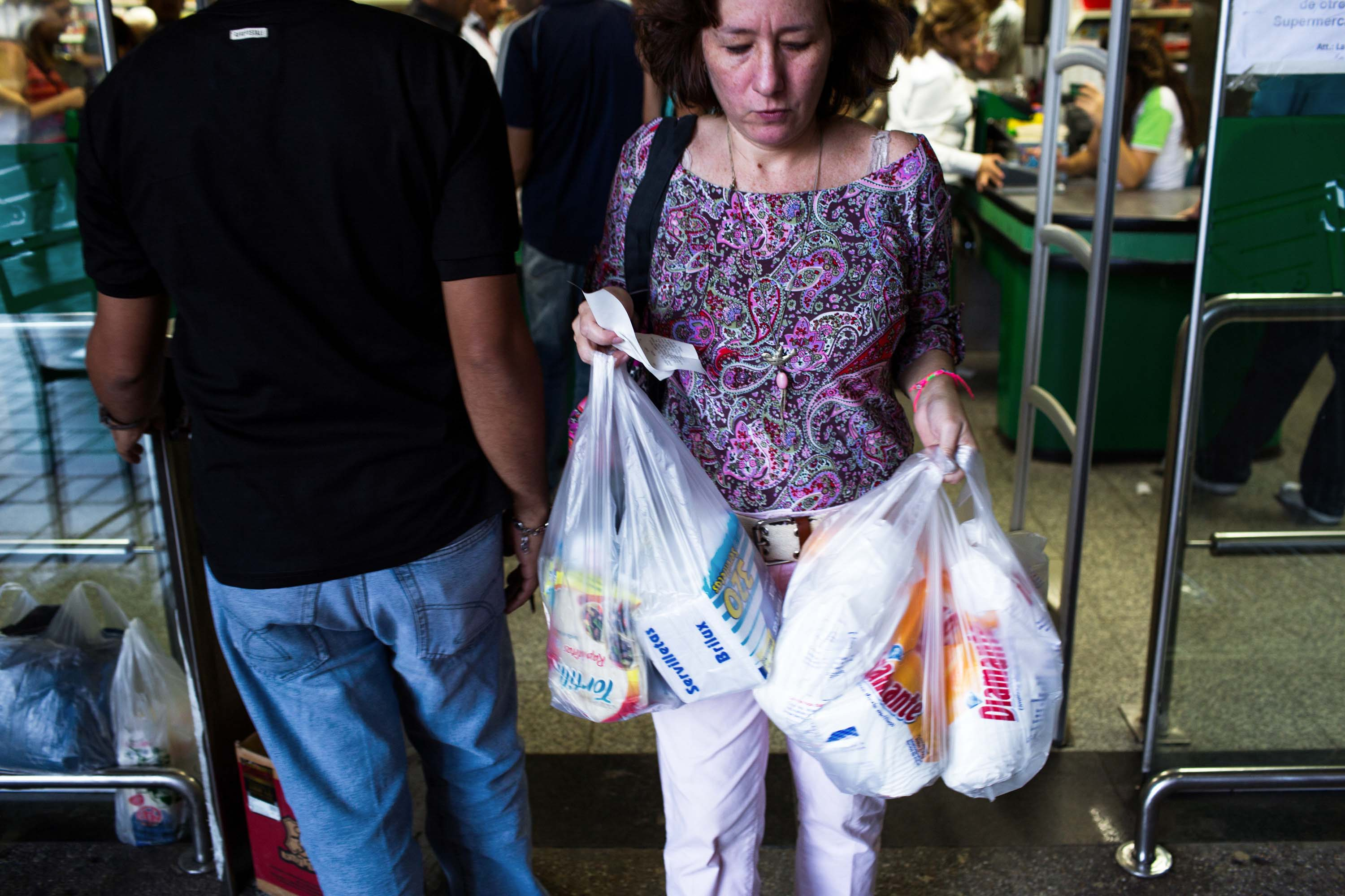grocery shopping in Venezuela