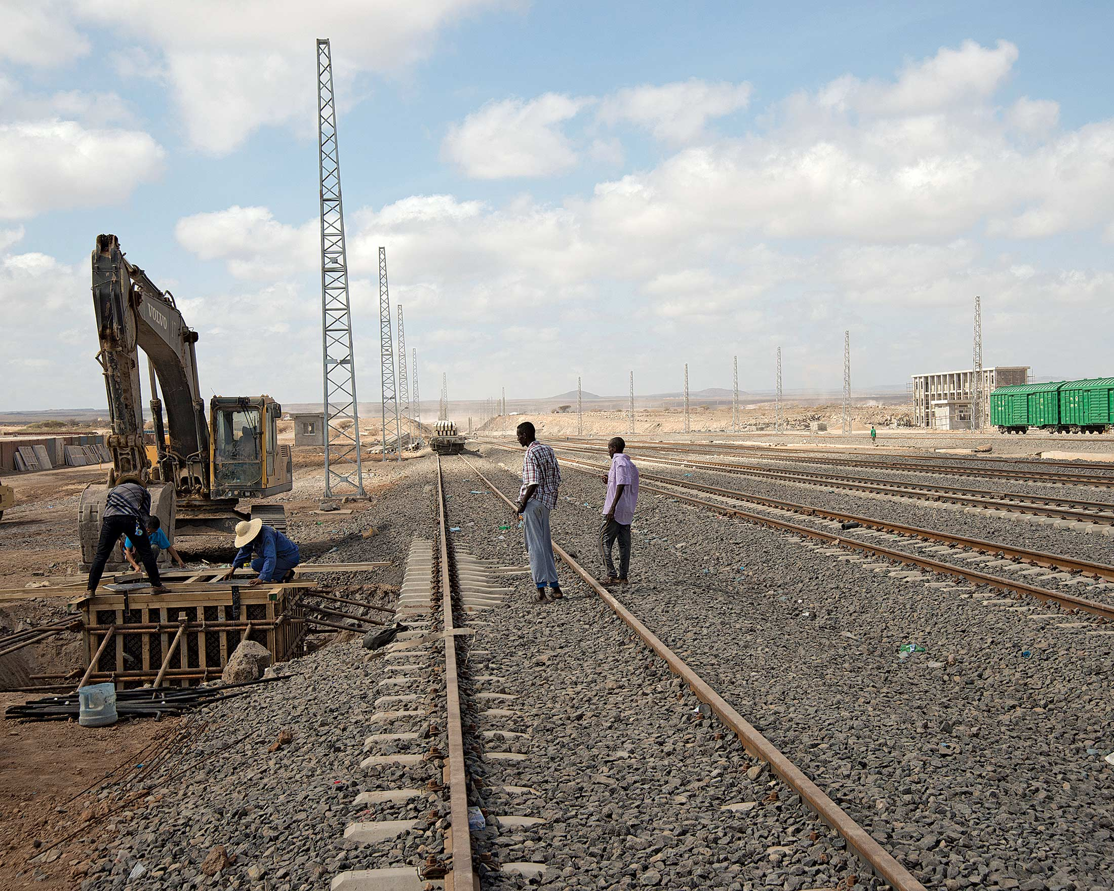 Railroad in Djibouti