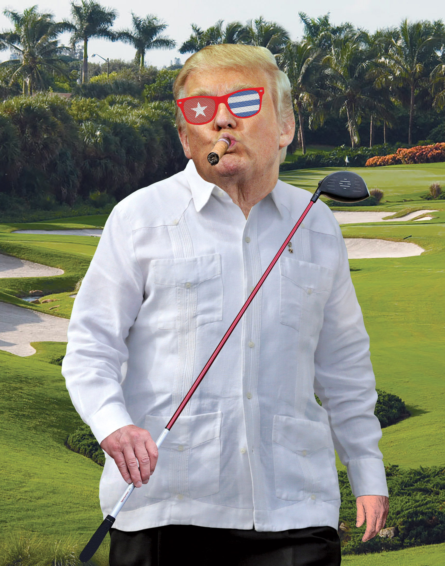 did donald trump s executives violate the cuban embargo golfing with ...