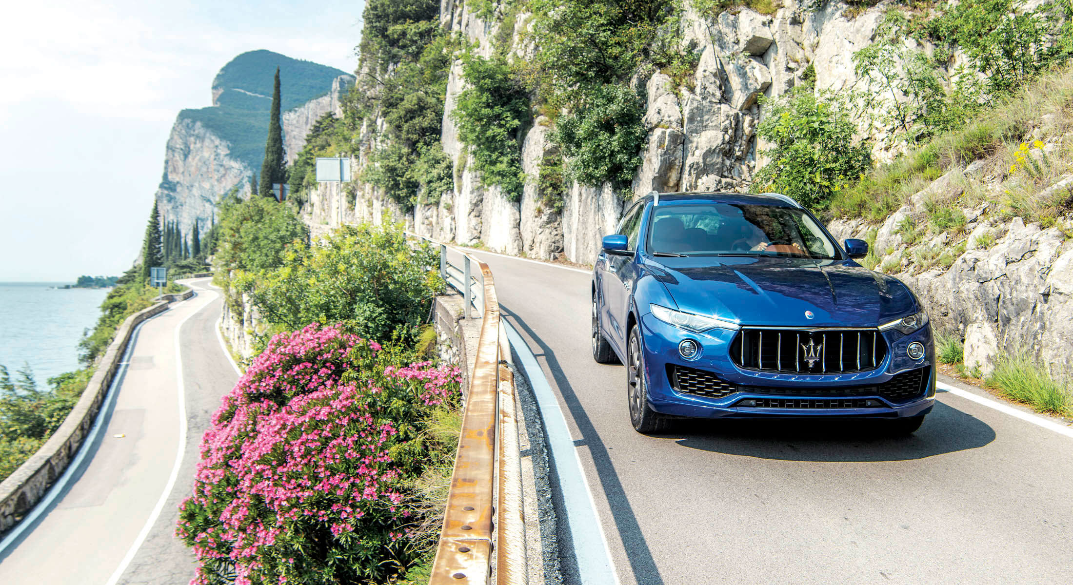 Conquer the Hills of Italy in a Maserati Levante