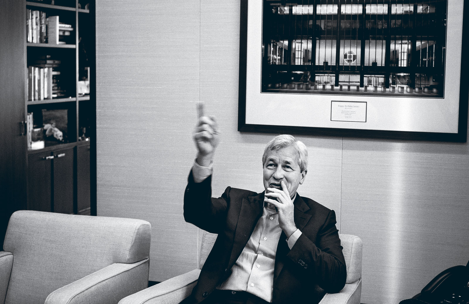 Q&A With Jamie Dimon on the Future of Finance