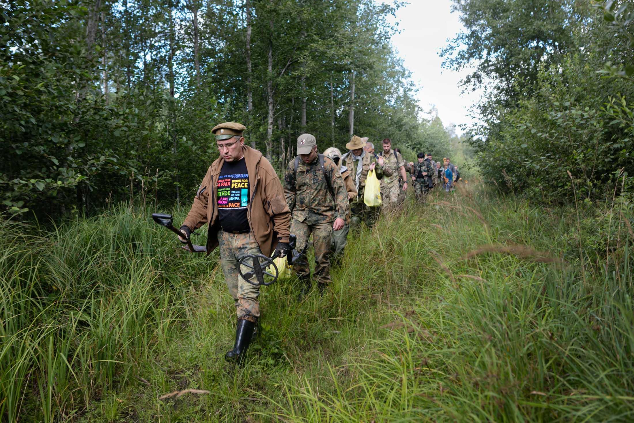 Digging for World War II History in Latvia's Battlefields
