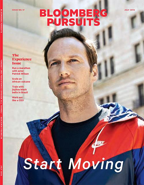 actor patrick wilson on running marathons
