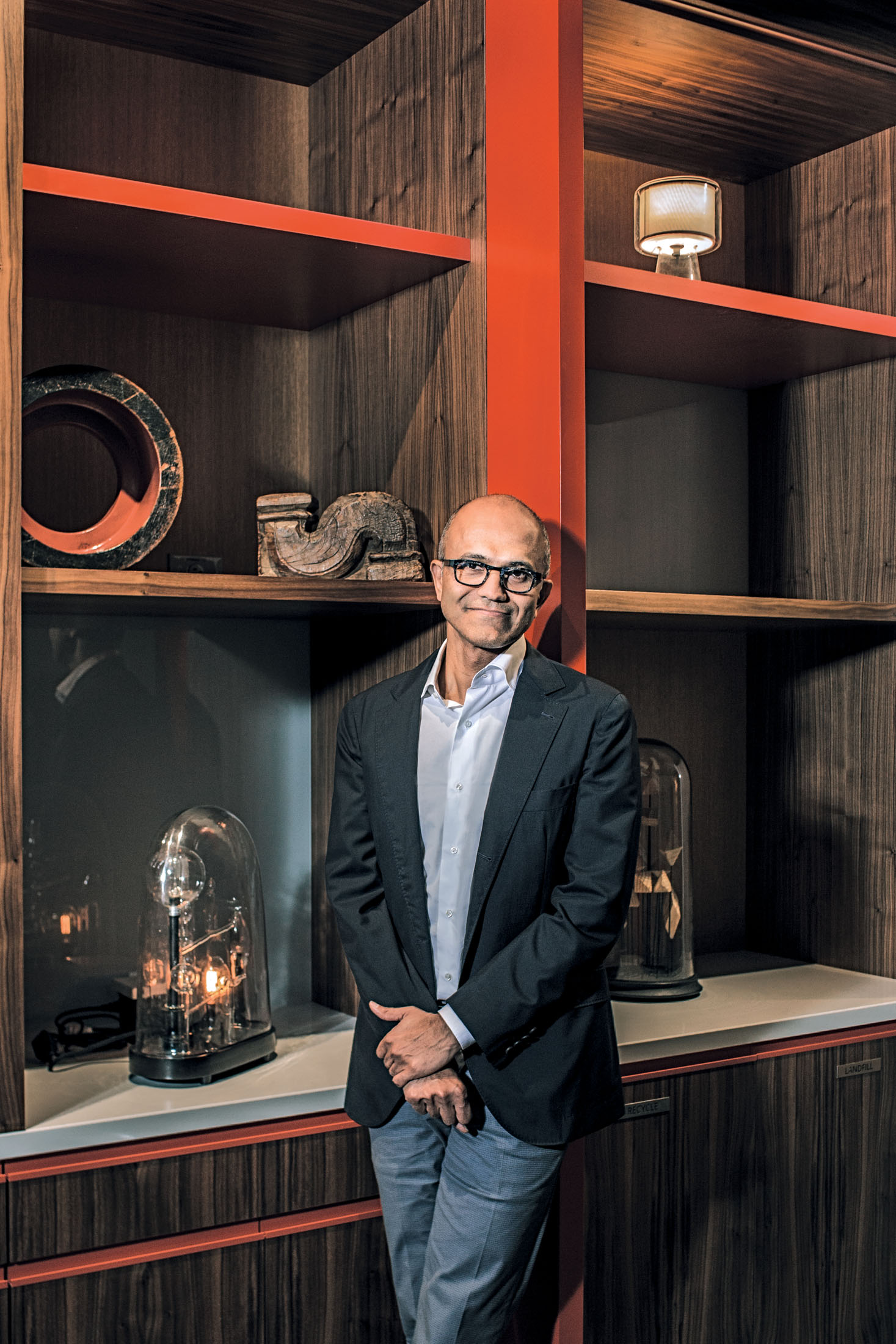 Satya Nadella On A Middle Aged Microsoft