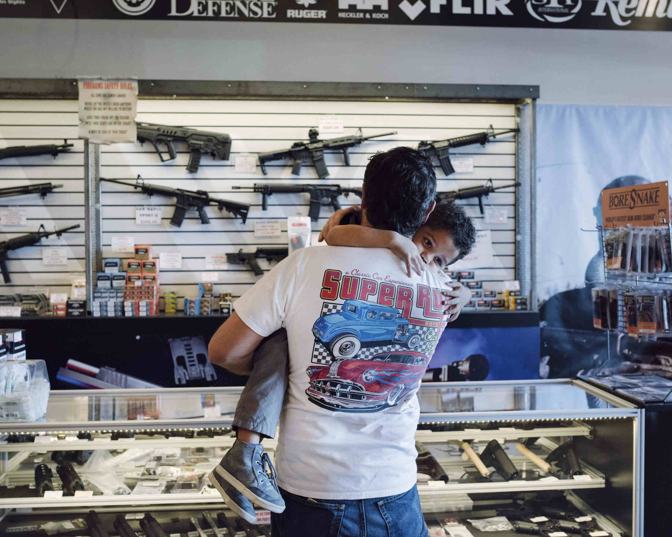 Three Days Behind The Counter At A Vegas Gun Shop