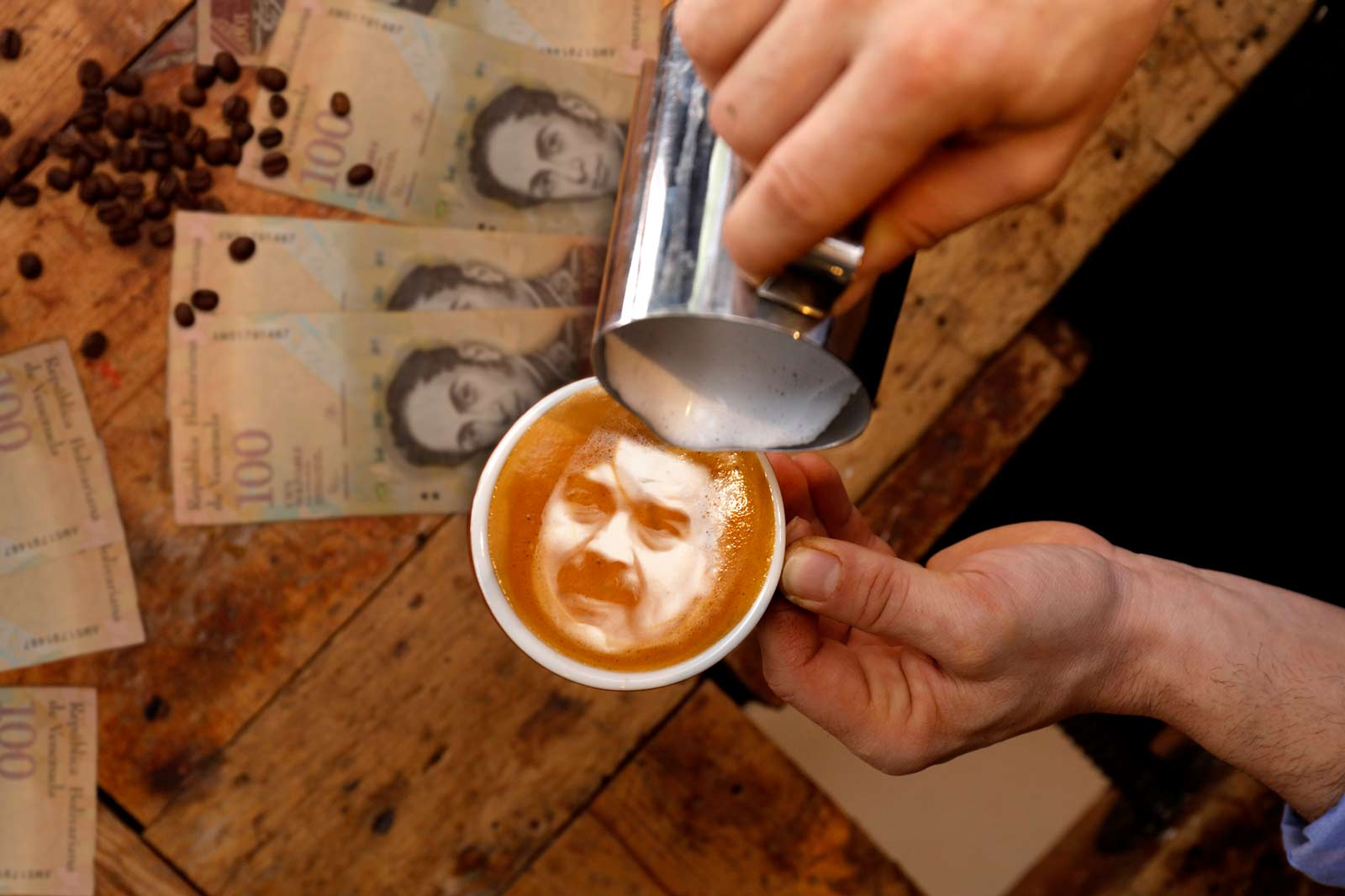 Tracking Hyperinflation One Cup Of Coffee At A Time