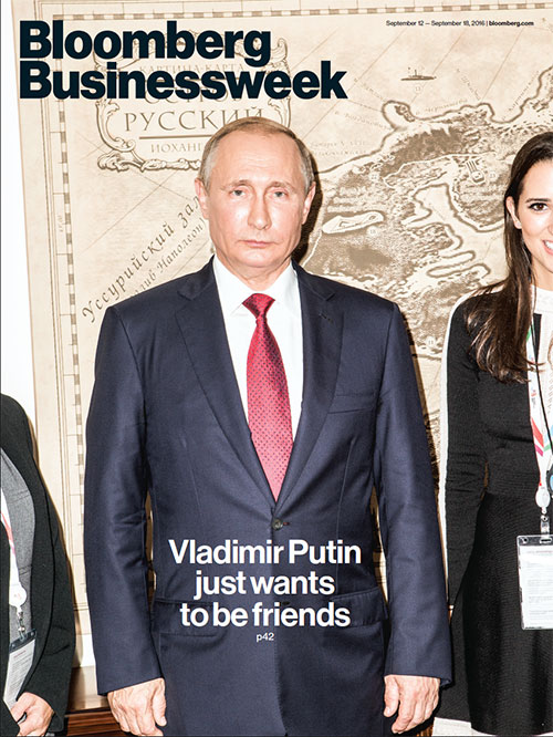 Image result for Putin businessweek cover