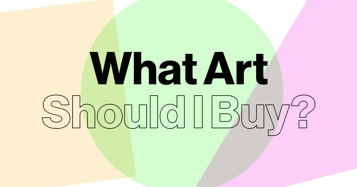 Which art should you buy? Our handy quiz will tell you