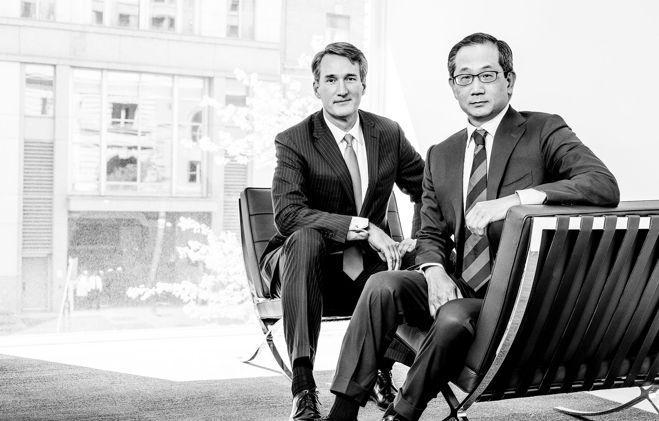 Meet Private Equity's Next Generation: Kewsong Lee and Glenn Youngkin