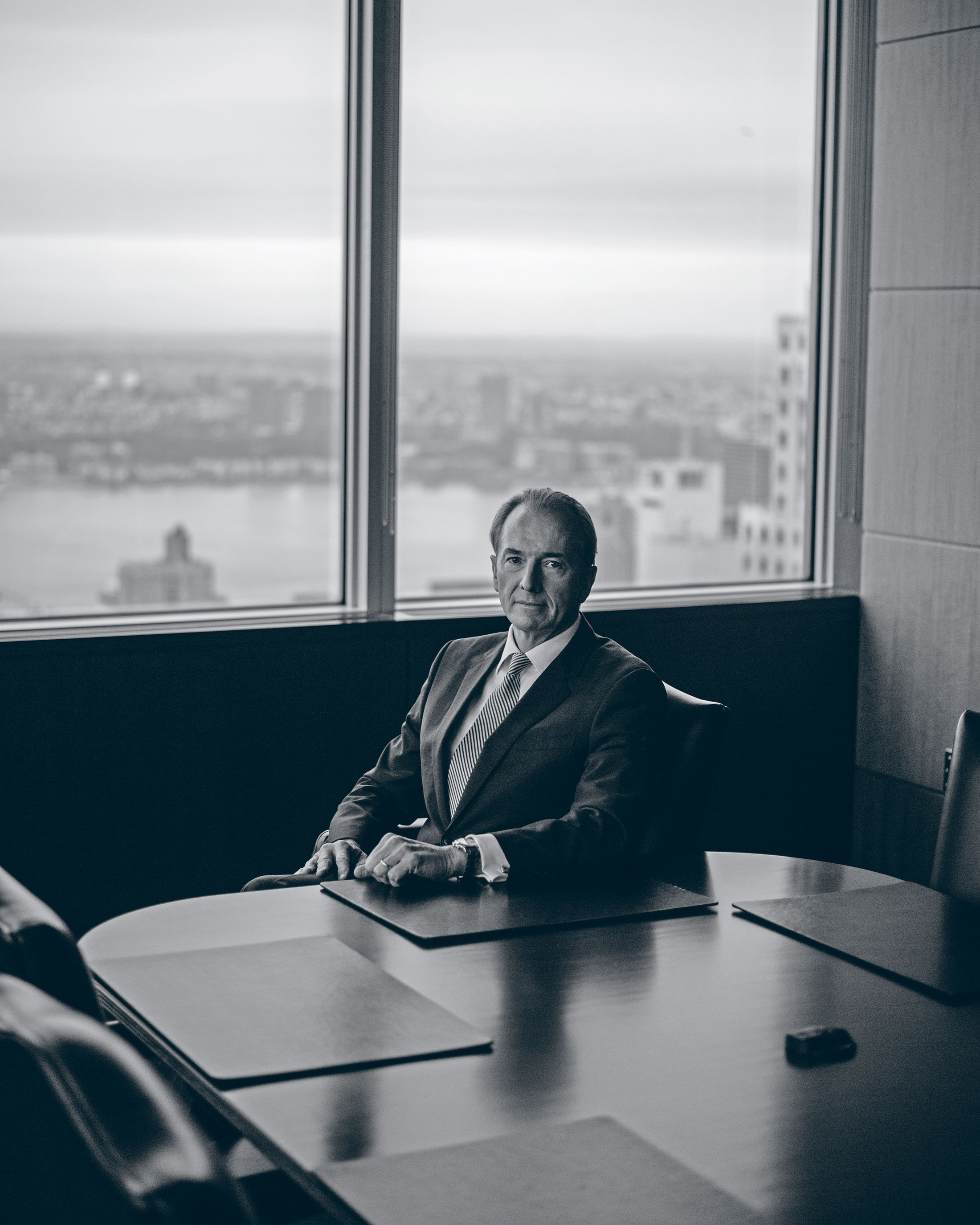 Morgan Stanley's CEO Gives Himself an A-Minus