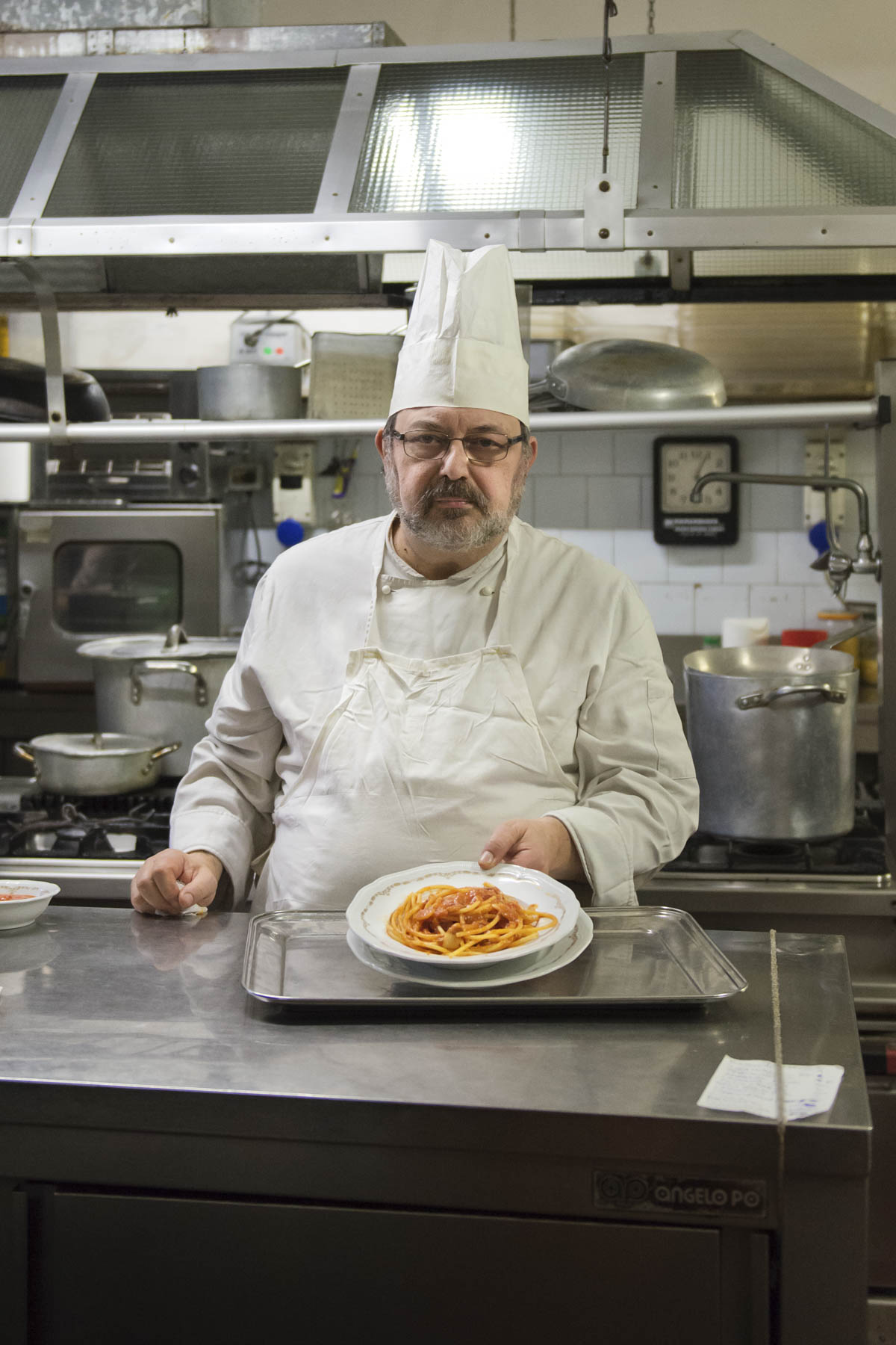 Chef Elio Mariani.