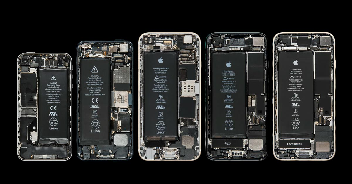 bloomberg.com - Here's a Detailed Look at What's Inside an iPhone