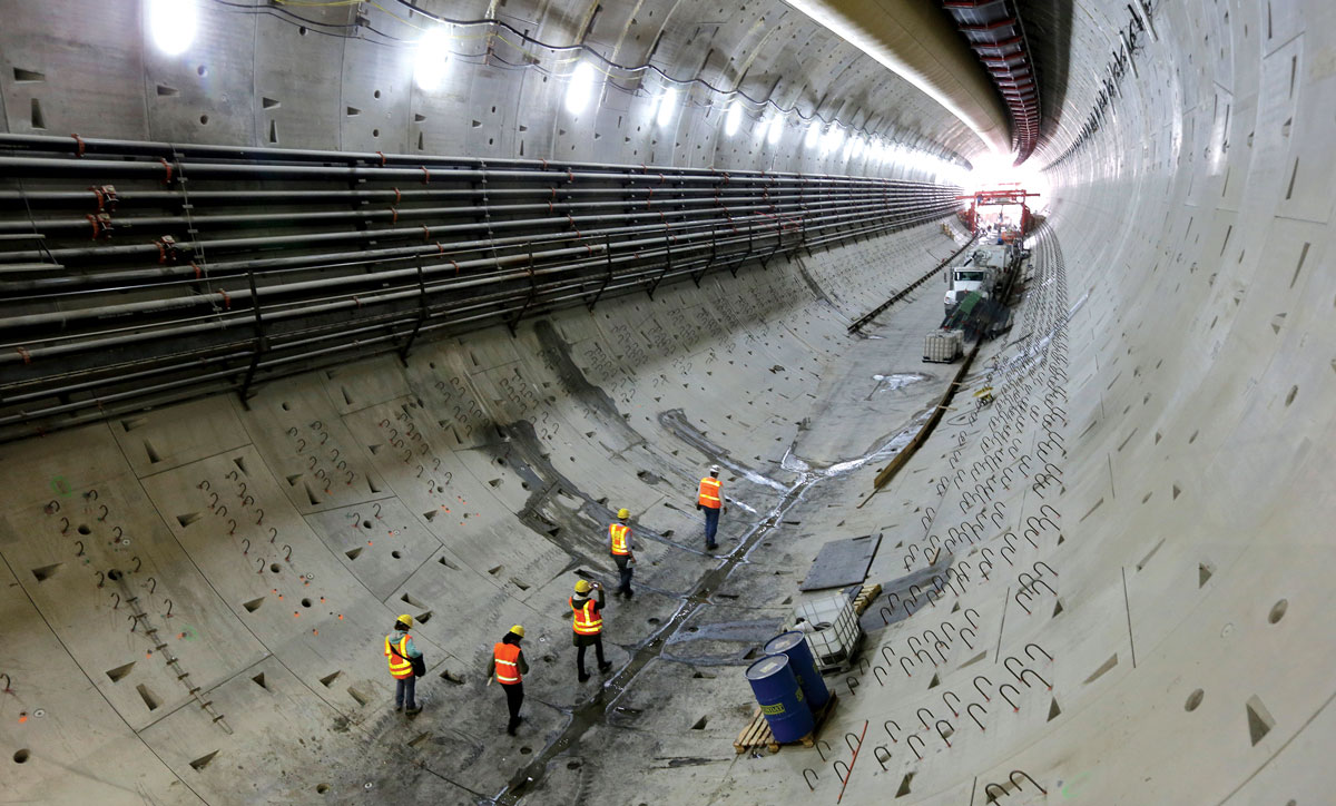 segmental tunnel lining