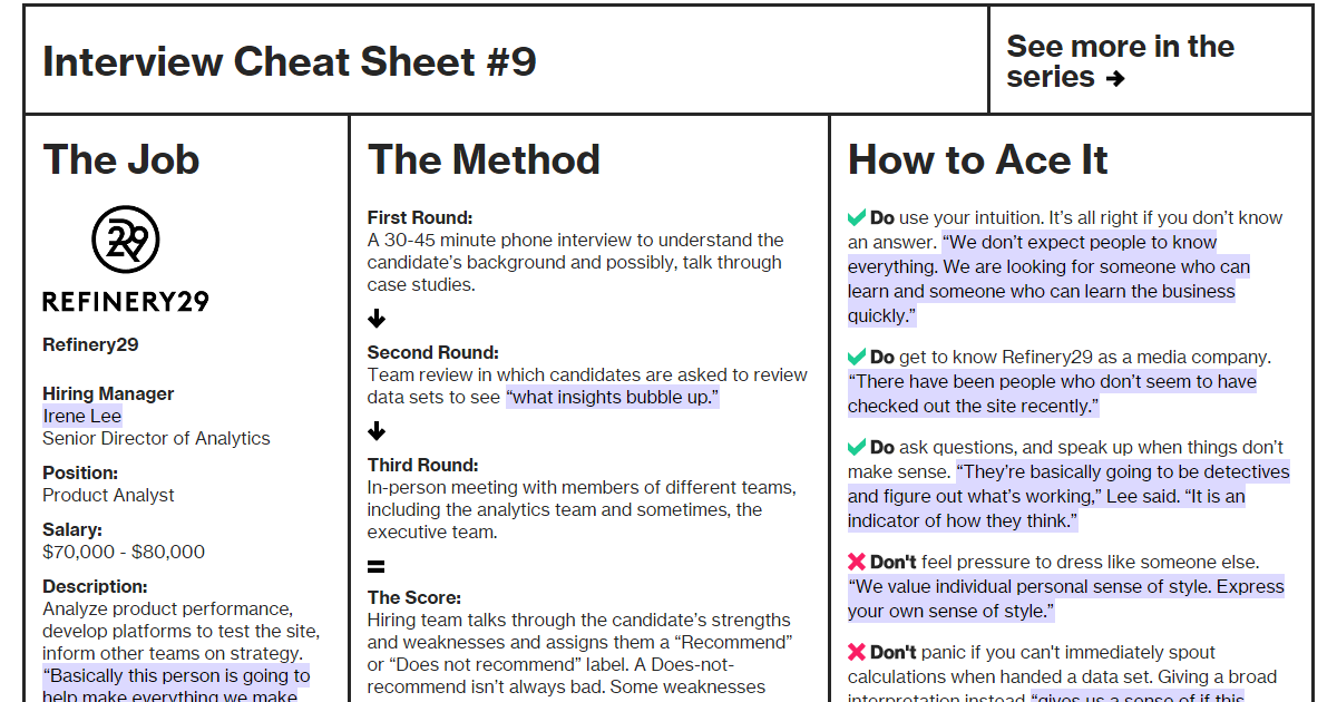 amazon interview cheat sheet Try the big o cheat sheet no pseudo code, unfortunately, but it is a pretty thorough list, and does link you to the wikipedia articles for each data structure or algorithms it lists permalink.