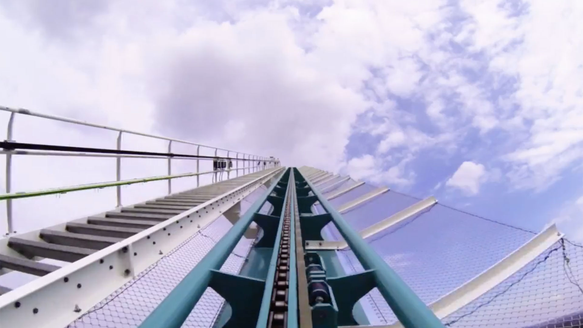 Top Of A Roller Coaster