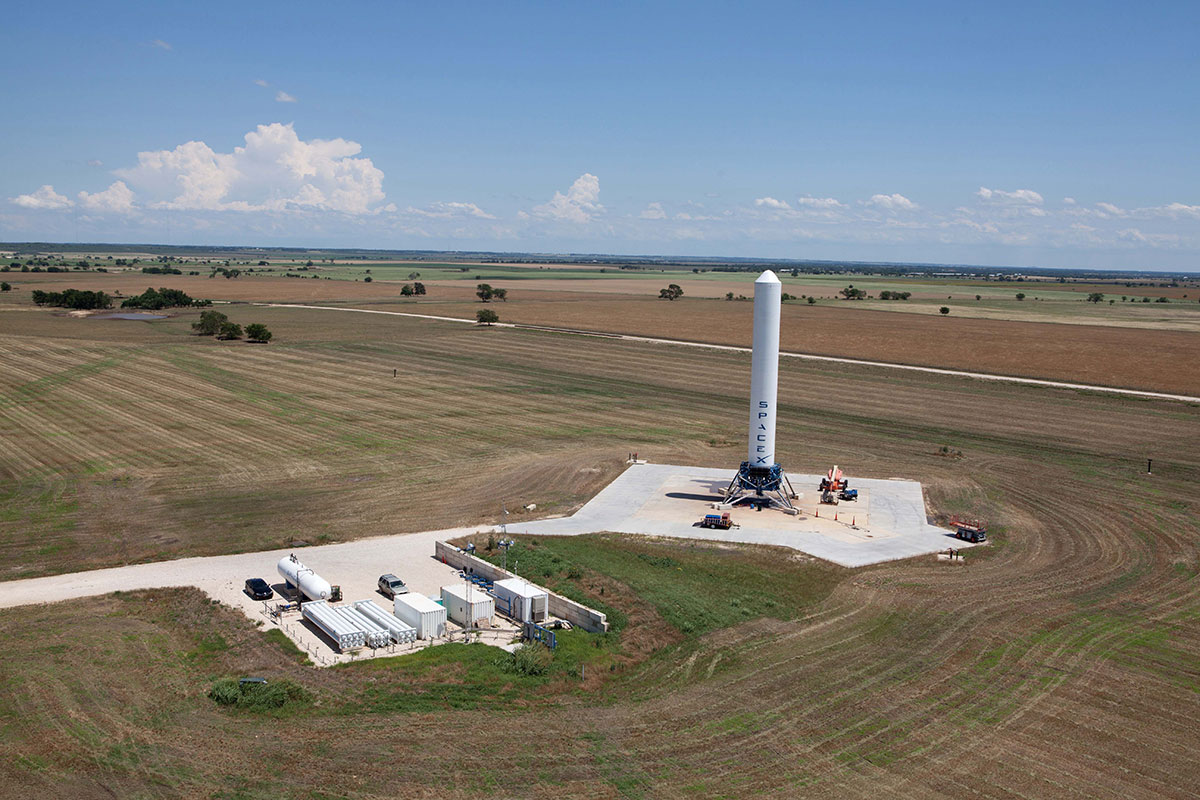 SpaceX Facility in McGregor Texas Military Base Old Uses ...