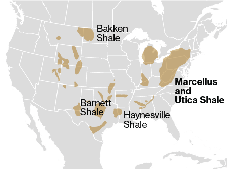Can The US Become An Energy Superpower In - Us fracking map 2016