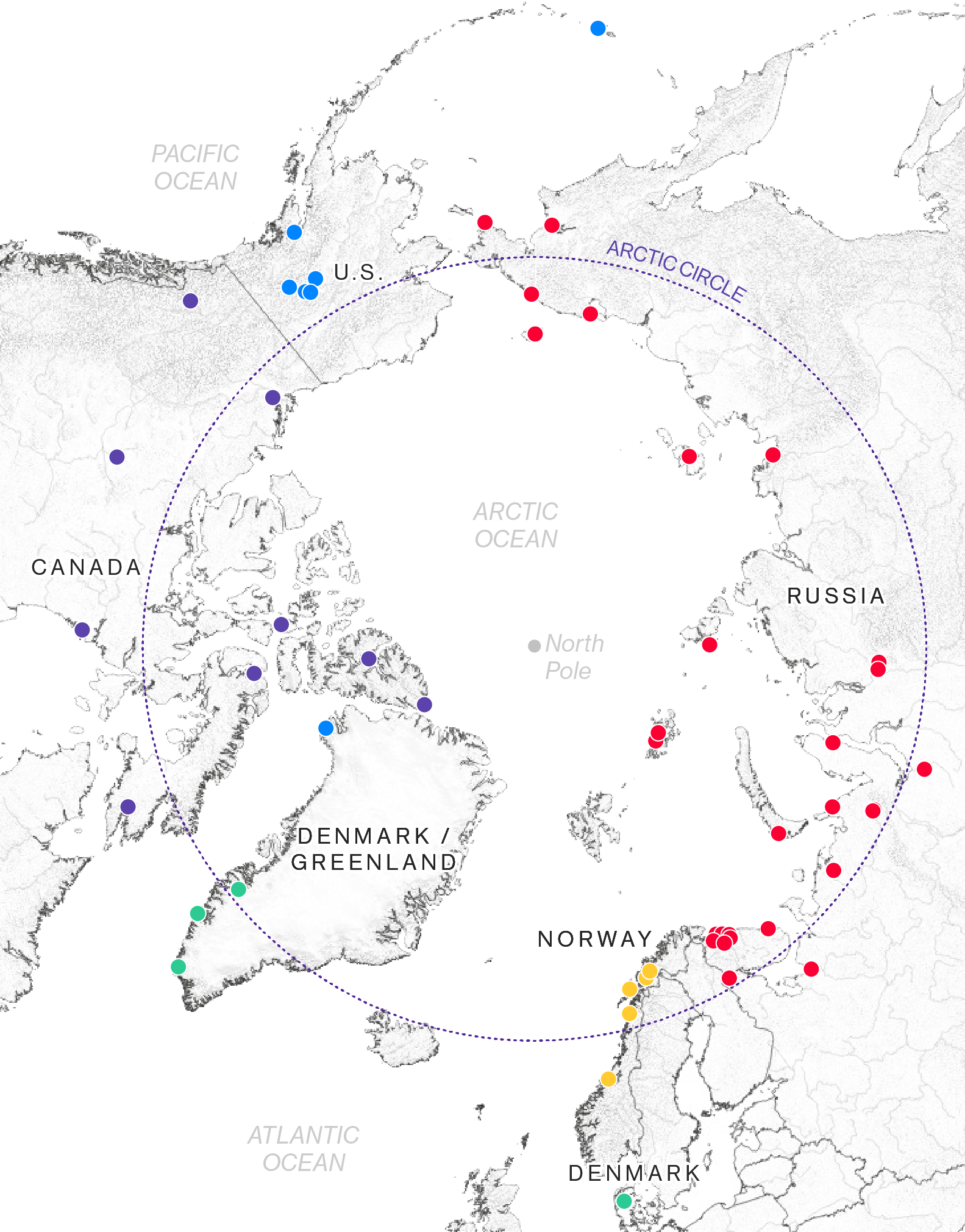 The Political Arctic - How a Melting Arctic Changes Everything on map of the scandinavia, map of the us including the arctic region, map of the moon circle, map of the grand circle, map of alaska, map of the prime meridian, map of the red sea, map of tropic of cancer, map of canada, map of mexico, map of tropic of capricorn, map of africa, antarctic circle, map of the arctic ocean, map of antarctica, map of north america, map of norway, map of the indian ocean, map of central america, map of europe,