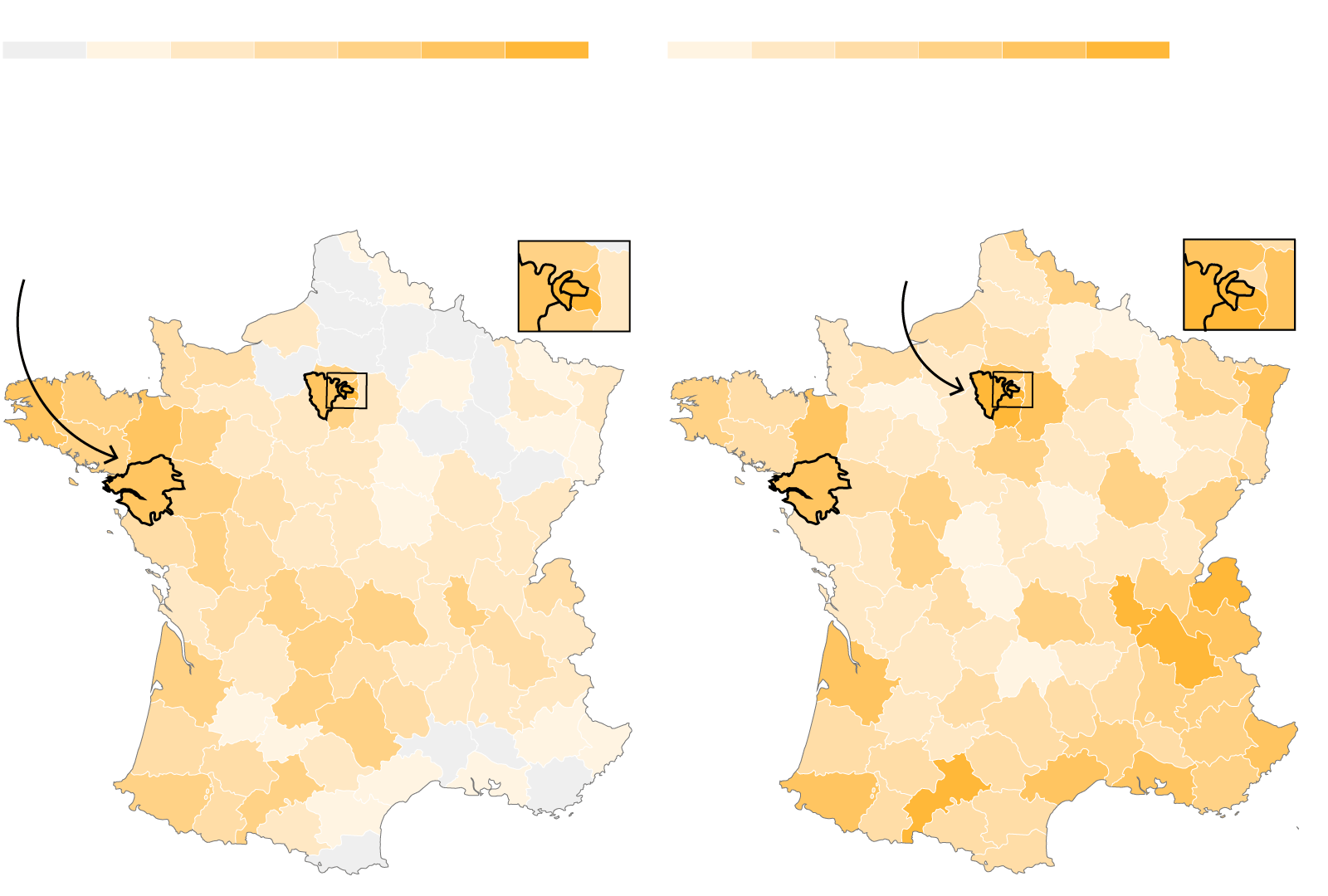 Macron Share Of Vote In The Second Round