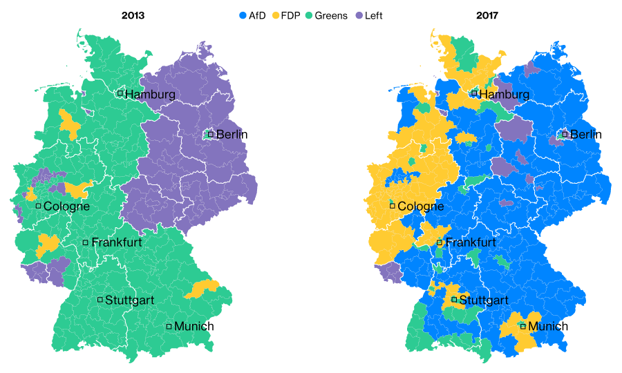 2017 German Election Results Live Coverage