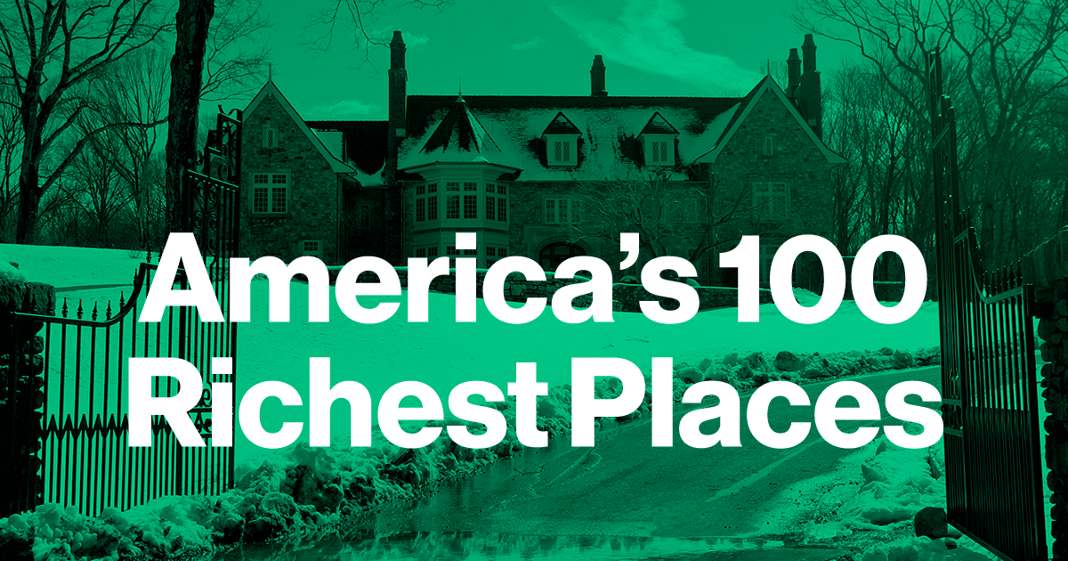 America's 100 Richest Places