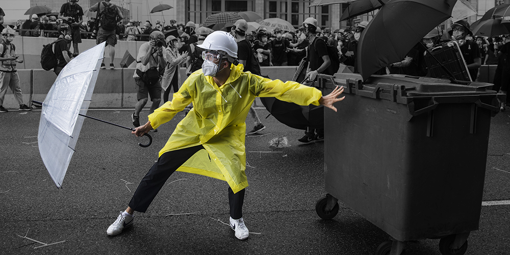 The Essential Tool for Hong Kong Protesters? An Umbrella