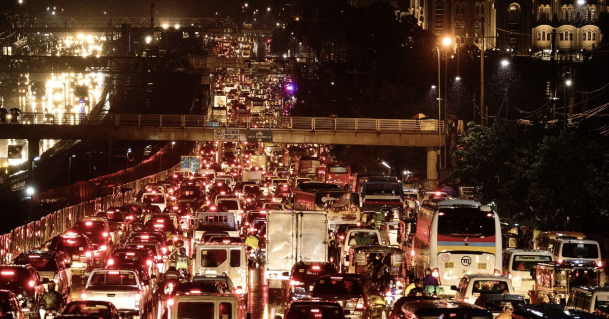Manila Has a Fix for World's Worst Traffic: Build Artificial Islands
