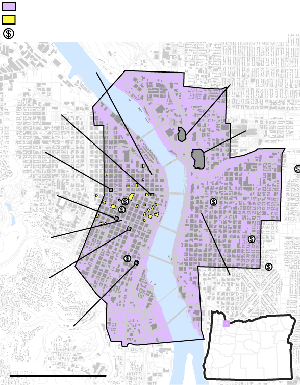 Portland S Land Rush For New Opportunity Zone Tax Breaks