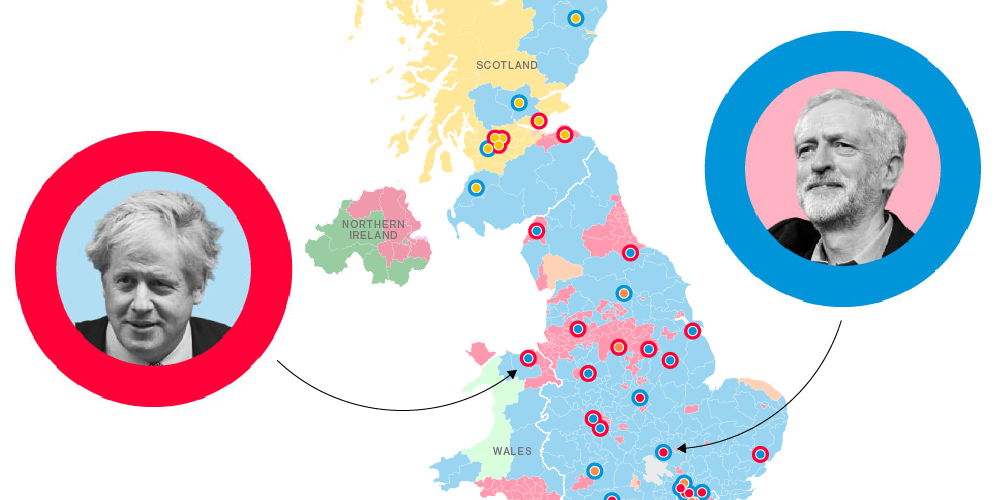 These Are the Brexit Battlegrounds That Will Decide the U.K. Election