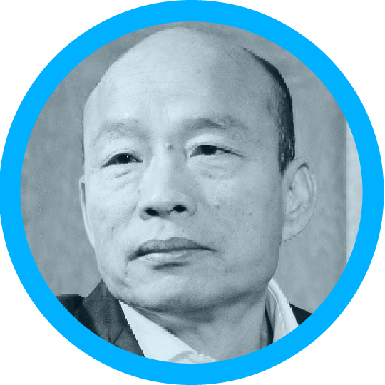 Portrait of Han Kuo-yu
