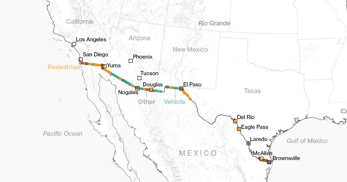 Here's What We Know About Trump's Mexico Wall