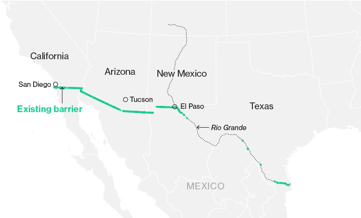 Trump\'s Wall with Mexico: What We Know