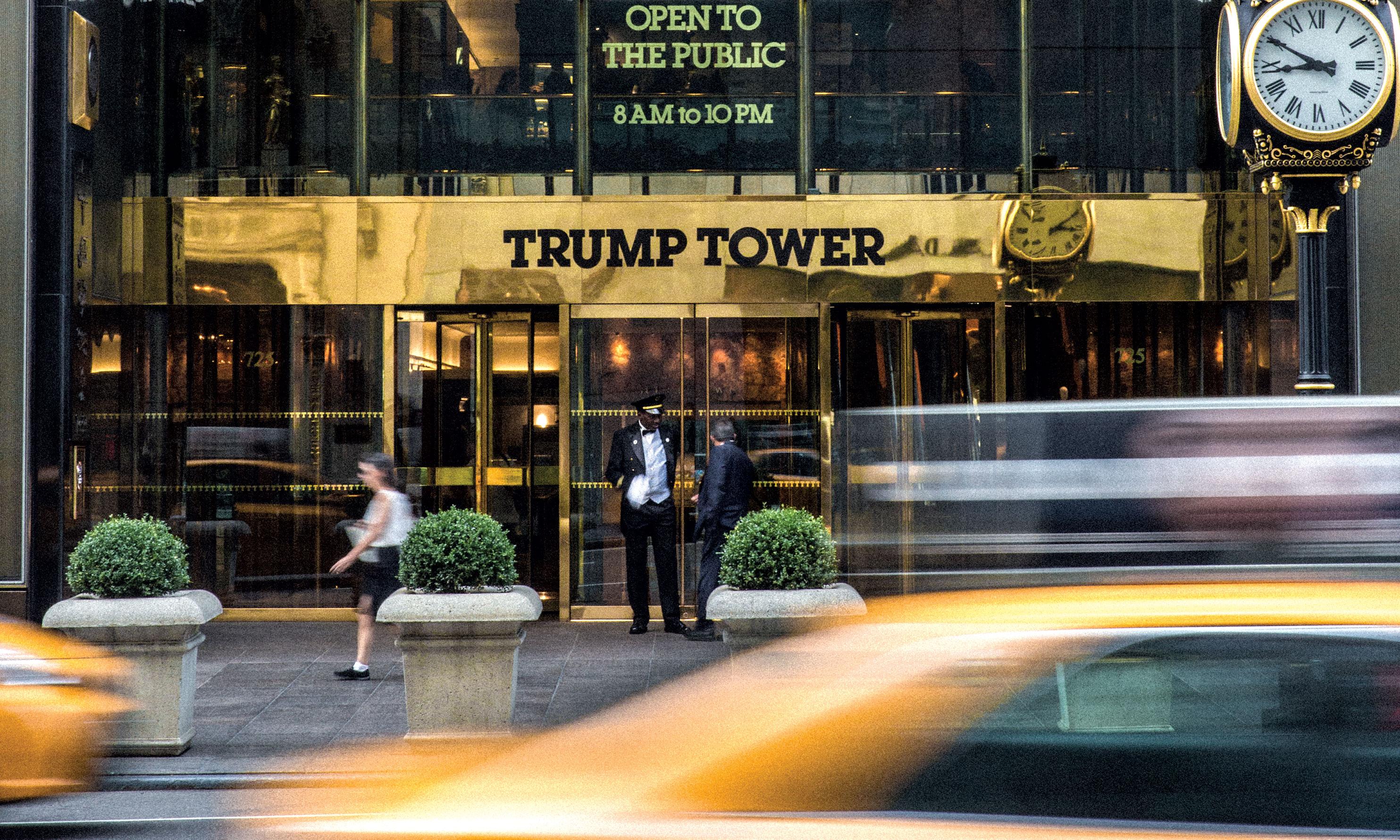 how trump invented trump