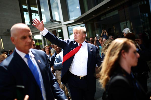 politics graphics candidate profiles donald trump